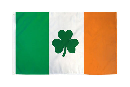 Ireland (Clover) Polyester Flags