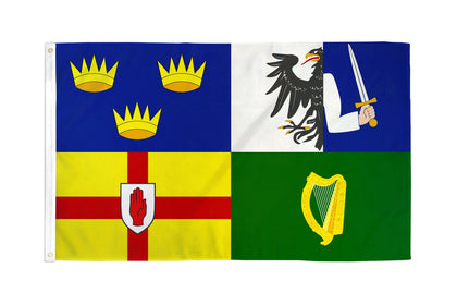 4 Provinces of Ireland Polyester Flags
