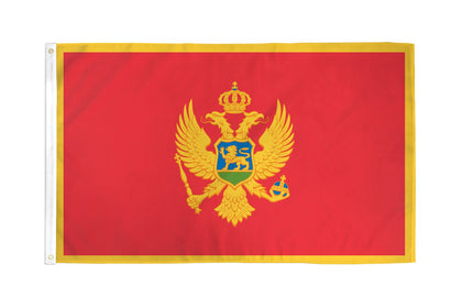 Montenegro Polyester Flags