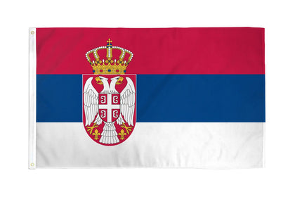 Serbia Polyester Flags