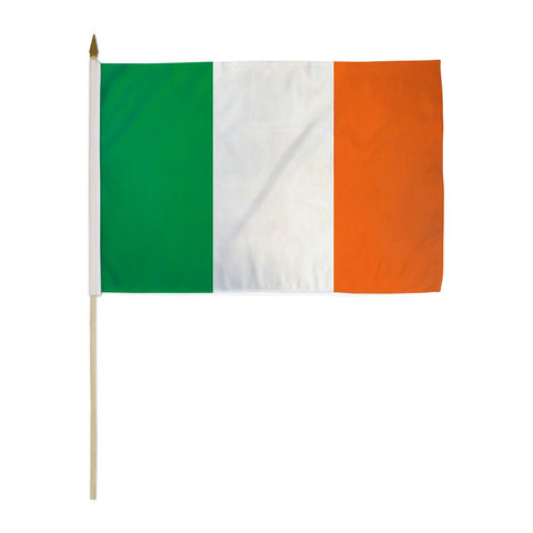 Ireland 12x18in Stick Flag