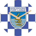 Waterford Flag Large Rounded Wooden Clock-290mm diameter, 22mm thick
