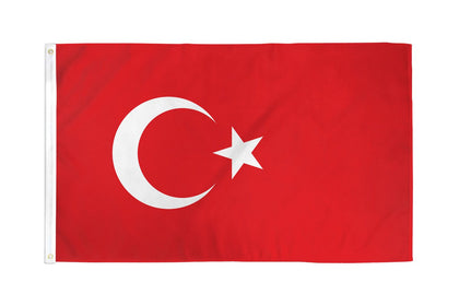 Turkey Polyester Flags