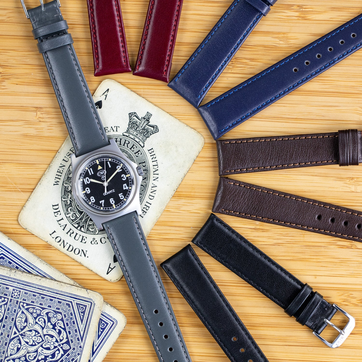 Your fixed bar watch has a new favourite strap... The Rios1931 Arizona