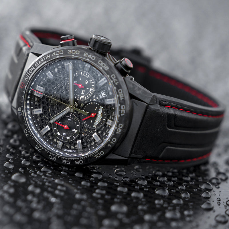 Collaboration: Aston Martin DBS x Tag Heuer limited edition