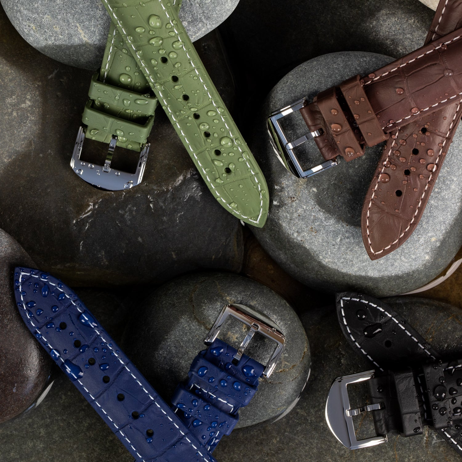 Our SkinSkan watch straps by ISOSWISS get a sporty update