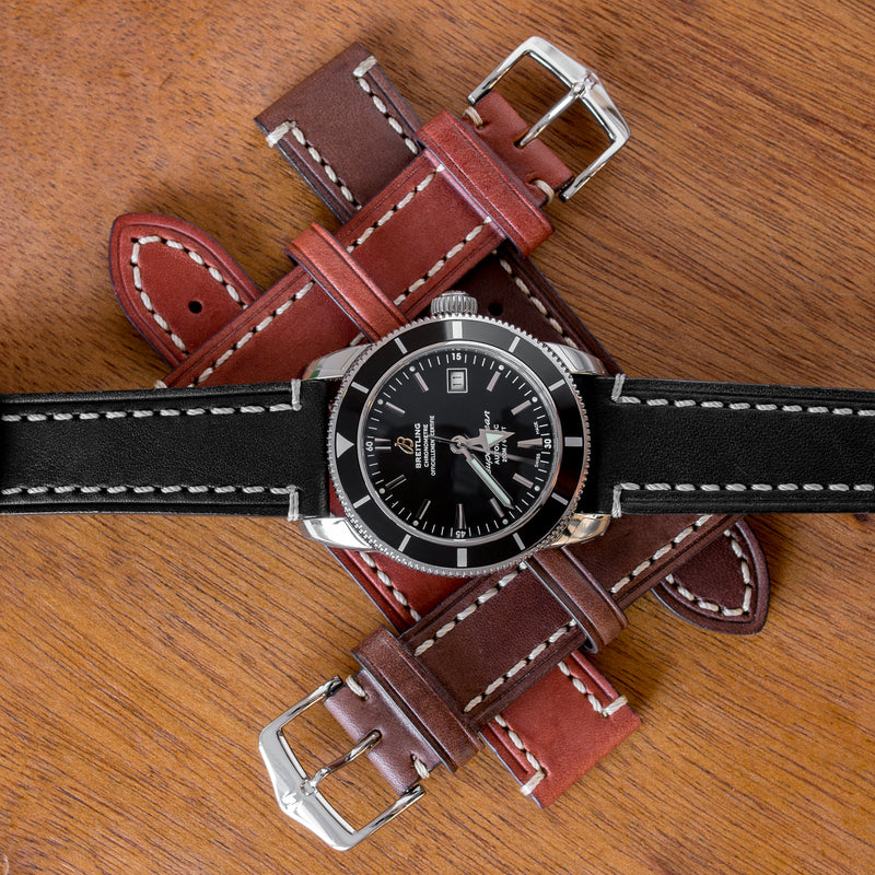Closer look: Hirsch Liberty Leather Watch Strap