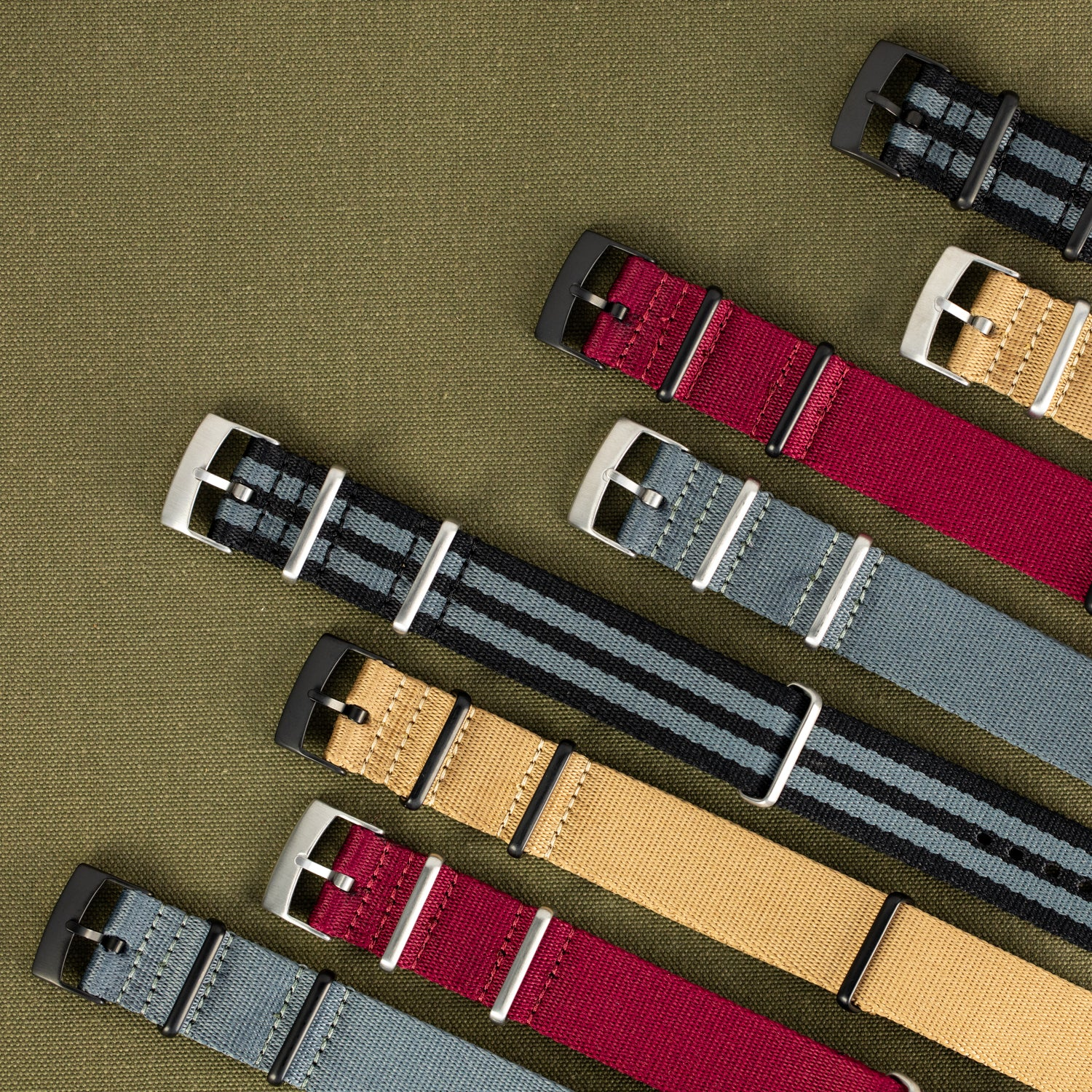 New Premium Nato straps to sink your teeth into