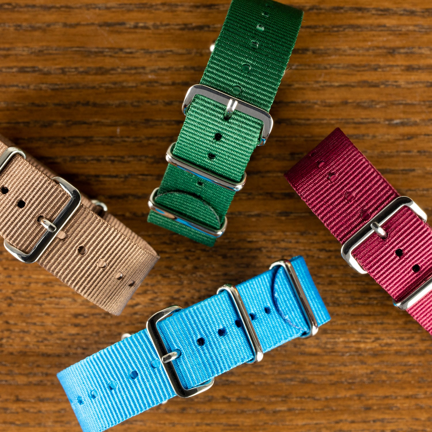 Our Standard Nato collection welcomes four new colours