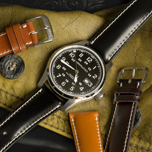 Closer Look: Rios1931 New York Shell Cordovan Leather Watch Strap