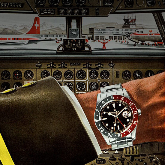 Stuff we like: The Rolex 'Pepsi' GMT Master-II