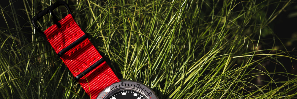 Red Watch Straps