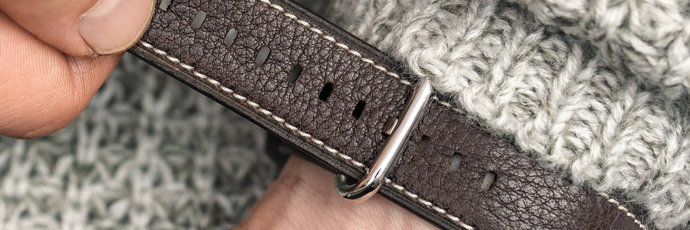 Natural Leather Watch Straps