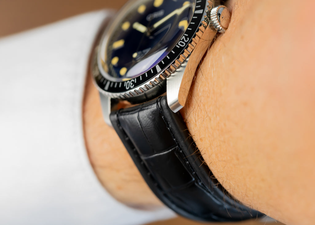 Black Di-Modell Imperator on Oris Sixty-Five Diver