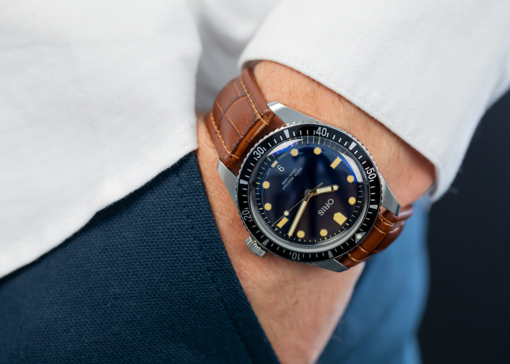 Pocketshot of Di-Modell Imperator on Oris Divers Watch