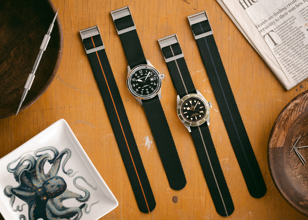Elliot Brown Watches Single Pass Nato Straps