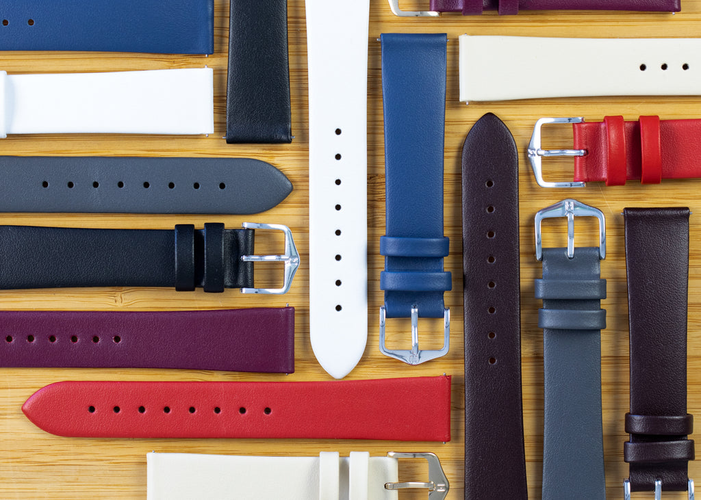 Mixture of Hirsch Toronto watch straps