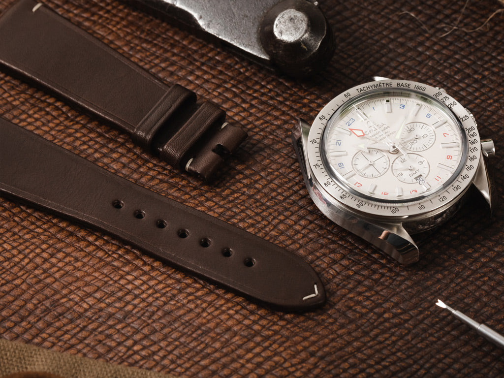 how to care for a Omega Vintage Leather Watch Strap