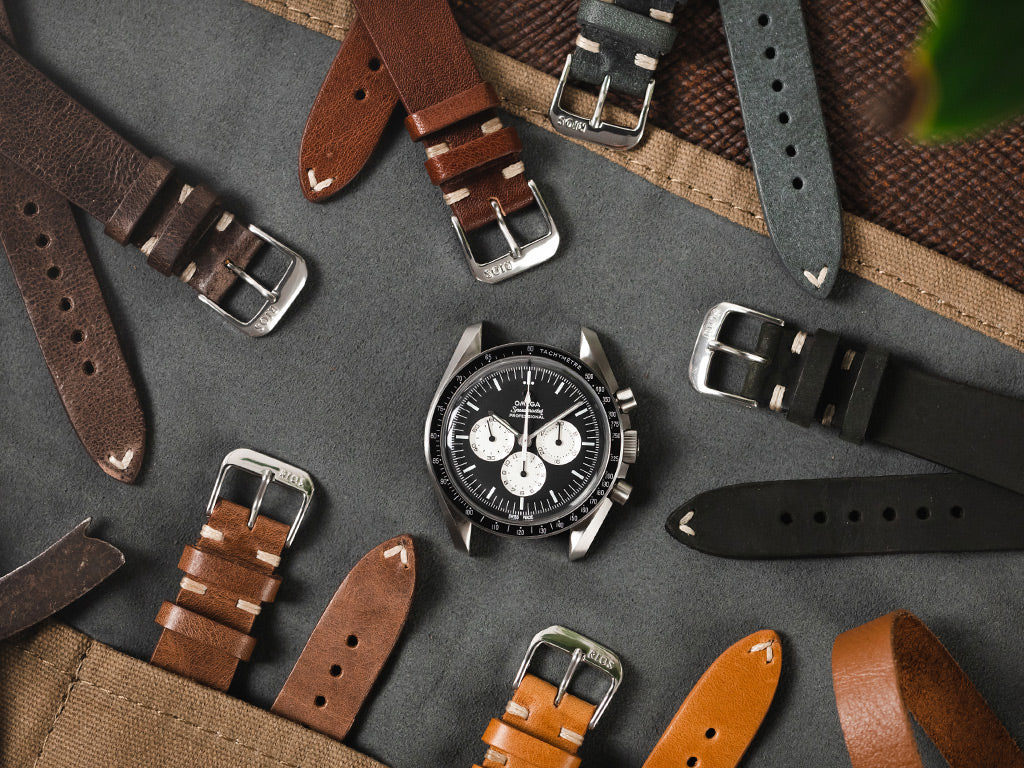 how to clean Rios1931 Bedford leather watch straps