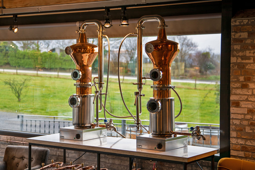Copper Stills at In The Welsh Wind gin distillery Cardigan