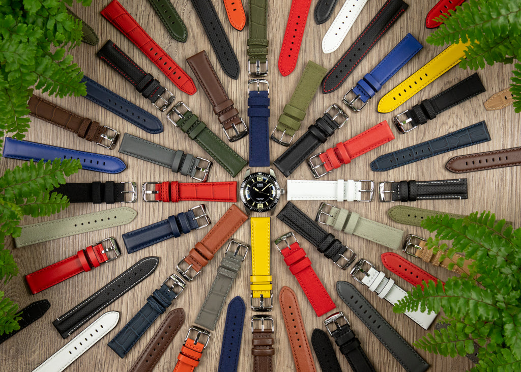 Sport collection of Morellato watch straps