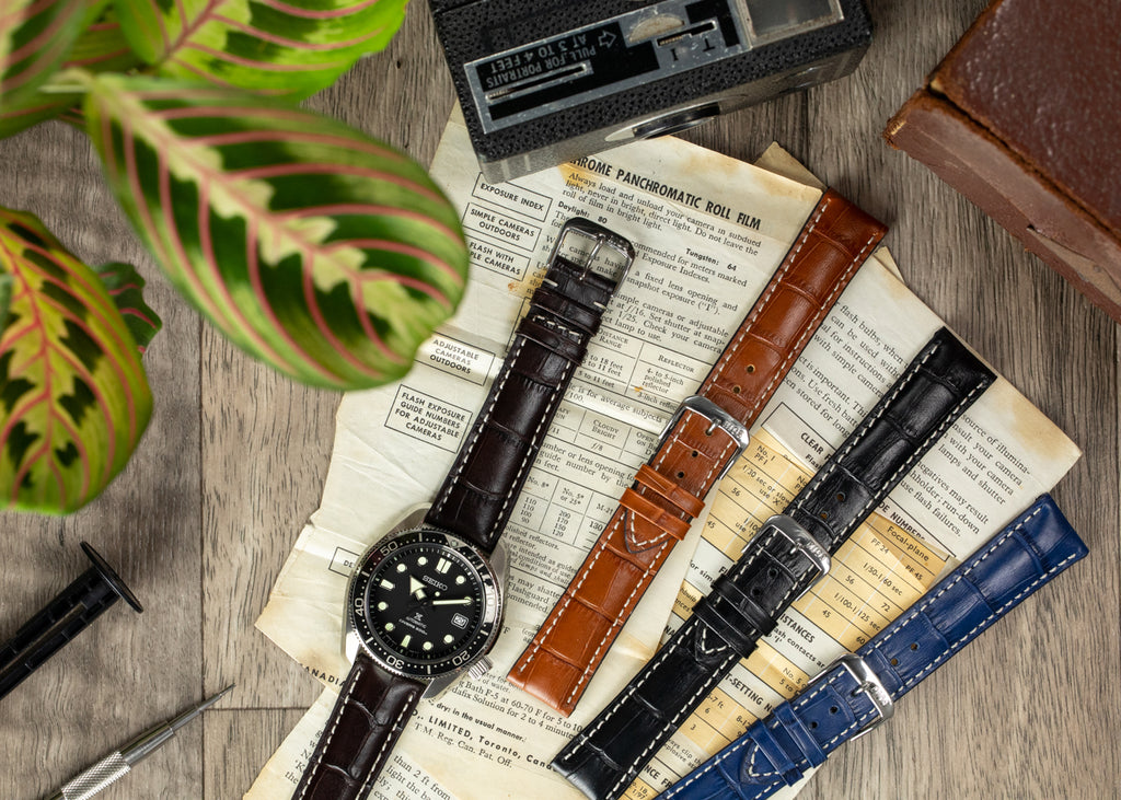 Rios1931 New Orleans watch straps in different colours