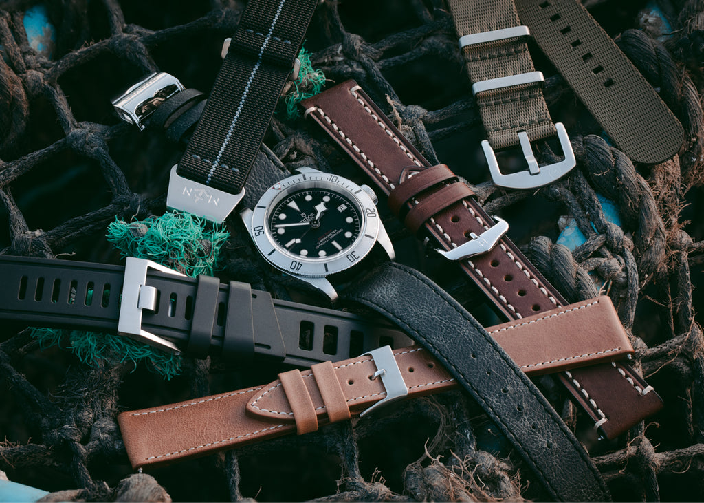 5 premium watch straps that fit the Tudor Black Bay