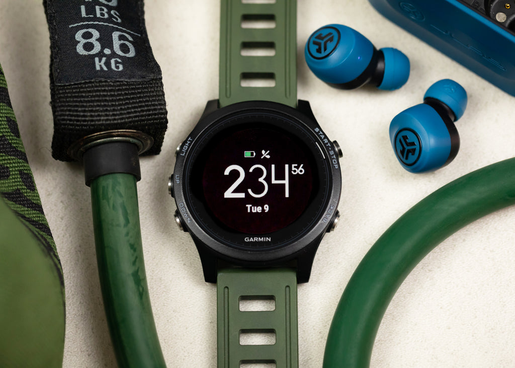 ISOfrane Rubber Dive Watch Strap In NATO GREEN