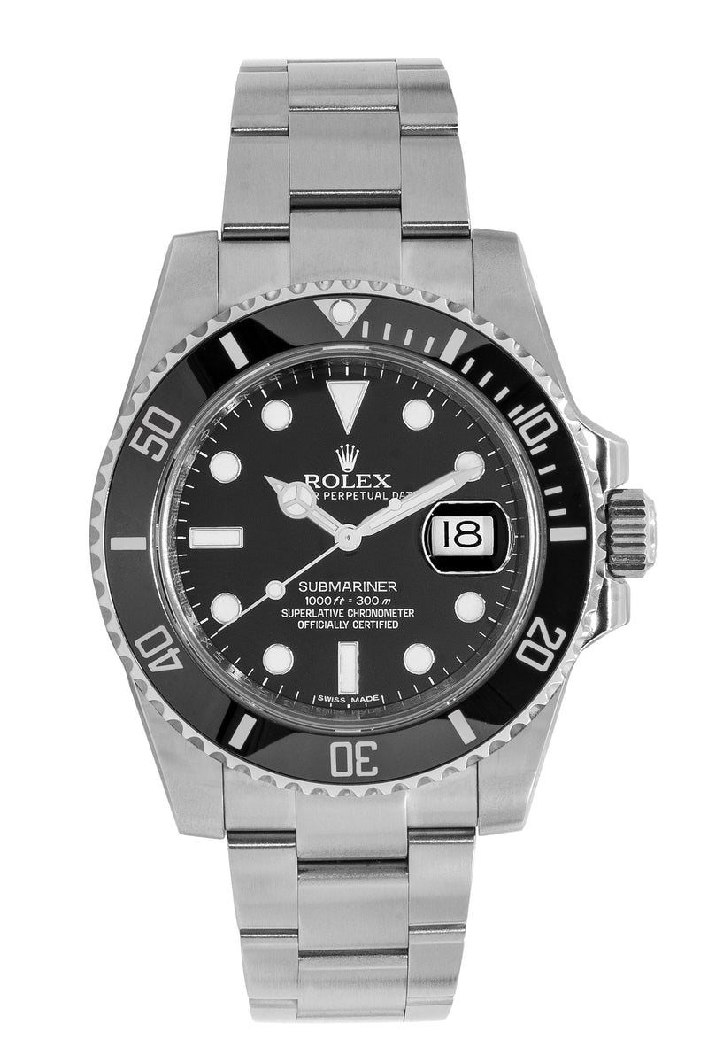 rolex submariner oyster perpetual swiss automatic watch. Black Bedroom Furniture Sets. Home Design Ideas