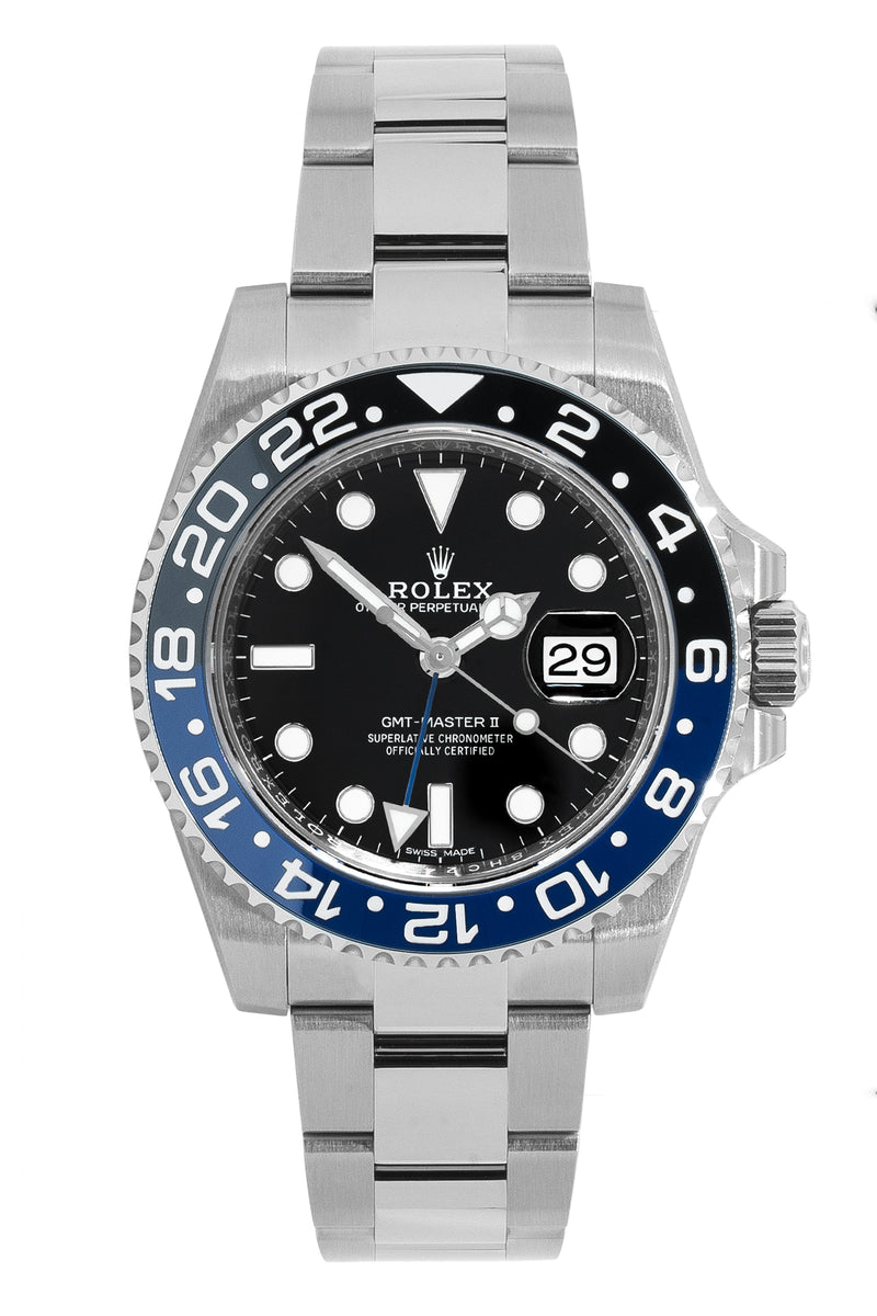 ROLEX GMT-Master II 116710BLNR 40mm with Black & Blue Bezel
