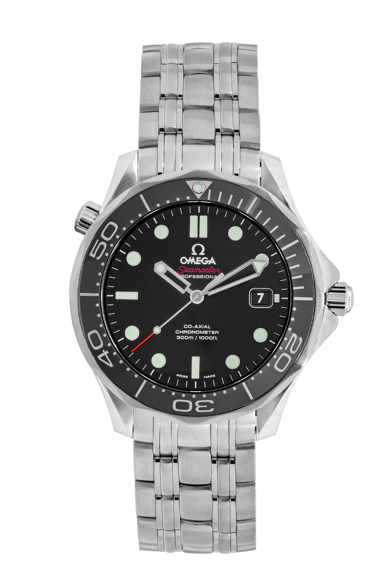 OMEGA Seamaster Professional Gents Automatic Watch – Black Dial