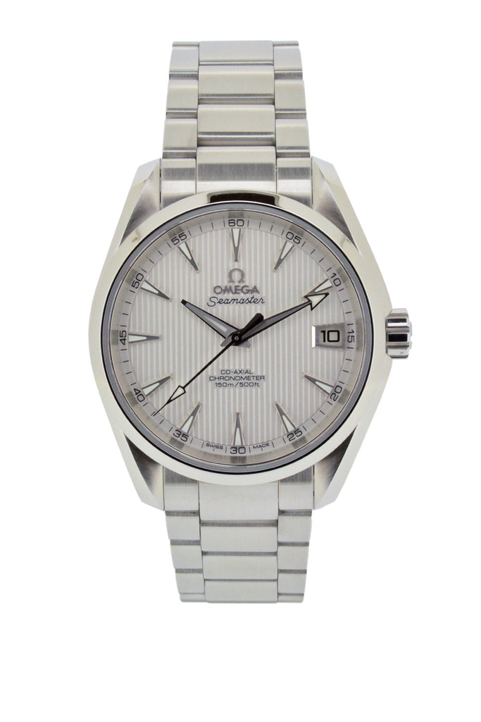 OMEGA Seamaster Aqua Terra Mid-Size Chronometer Watch 38.5mm - Silver Dial