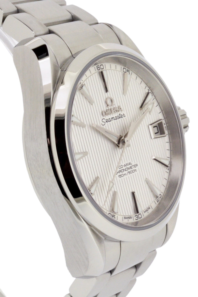 OMEGA Seamaster Aqua Terra Mid Size Chronometer Watch 38.5mm - Silver Dial