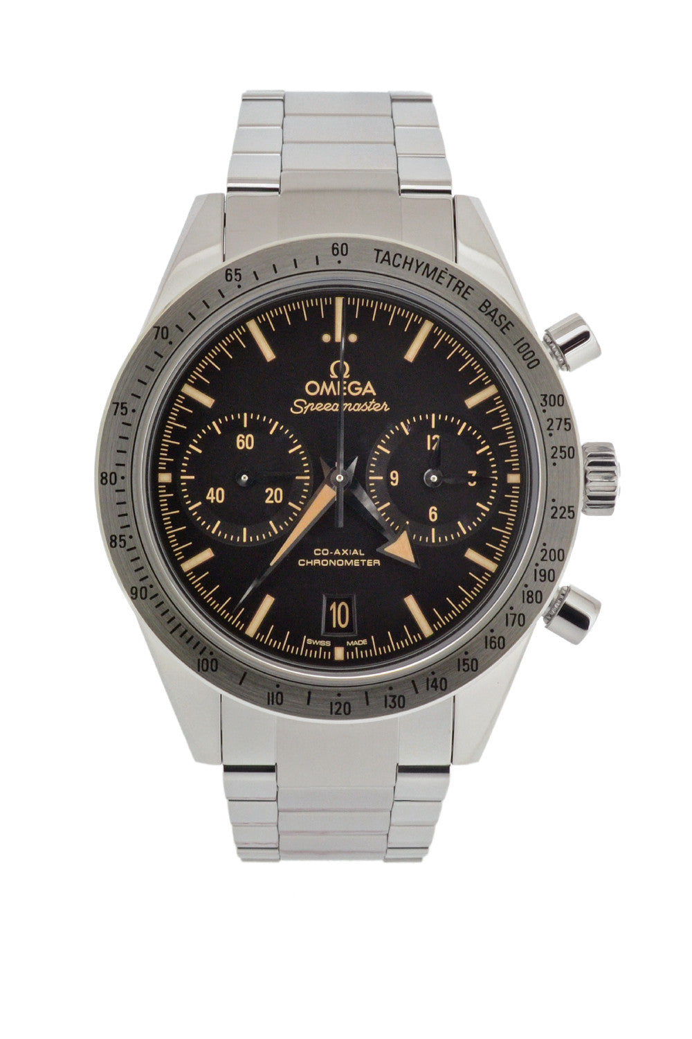 OMEGA Speedmaster '57 Co-Axial Chronograph Watch – Black Dial