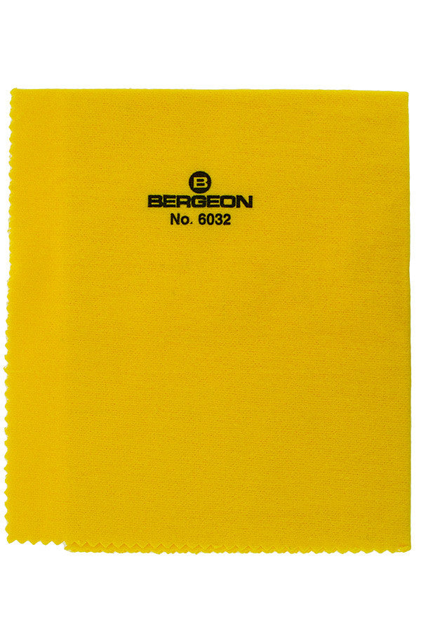 Bergeon Yellow Duster Cloth - 6032