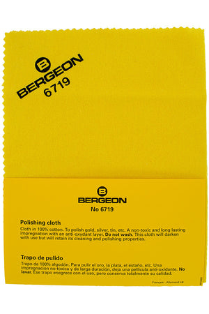 Load image into Gallery viewer, BERGEON Polishing Cloth - 6719 (Packaging)