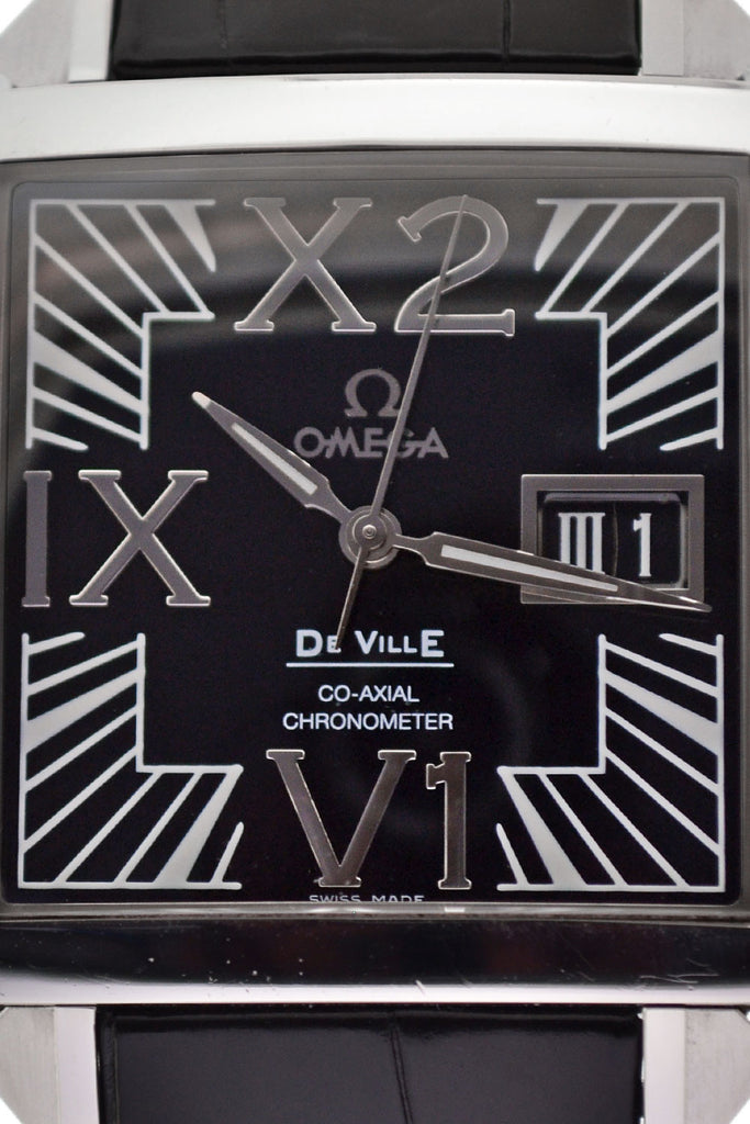 OMEGA X2 De Ville Big Date Chronometer Swiss Watch