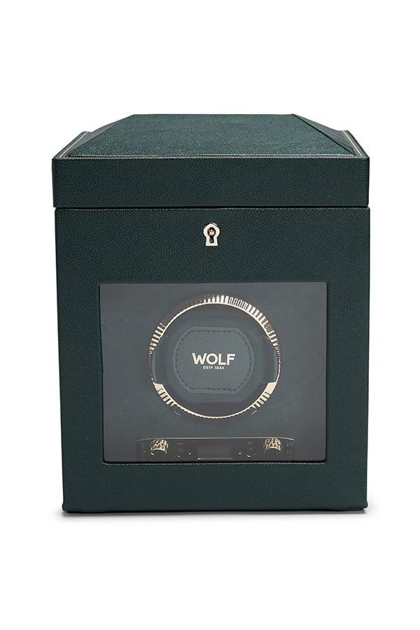 WOLF BRITISH RACING GREEN Single Watch Winder