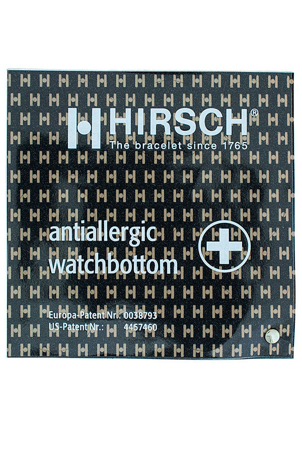 Hirsch no allergy watch bottom stickers
