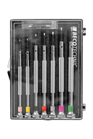 Load image into Gallery viewer, Beco Technic 7-Piece Precision Screwdriver Box Set