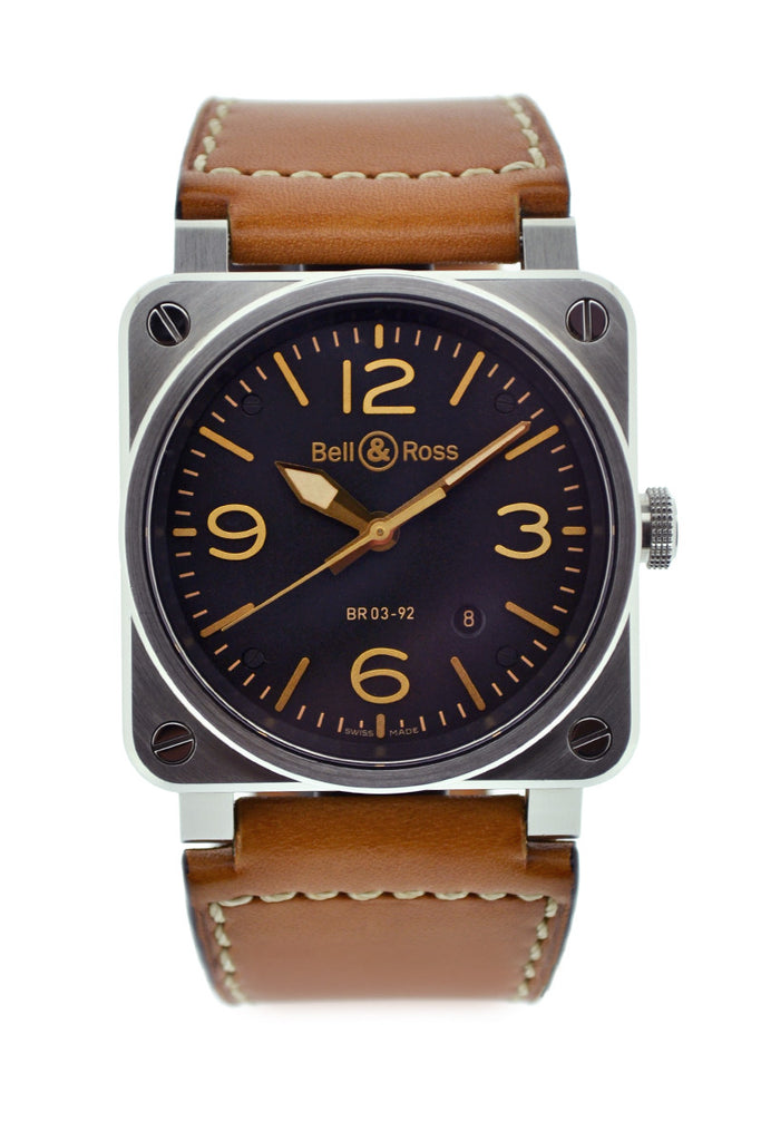 Bell & Ross BR03-92 Golden Heritage Steel Automatic Swiss Watch