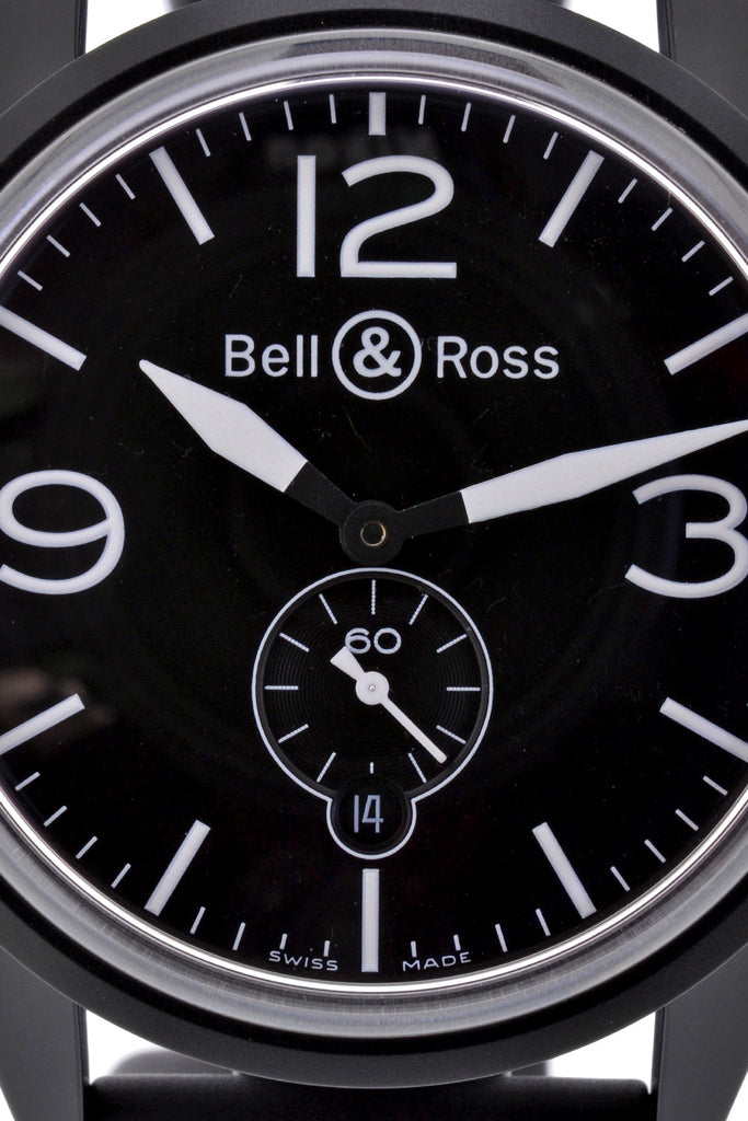 BELL & ROSS BR 123 Original Carbon Automatic Watch