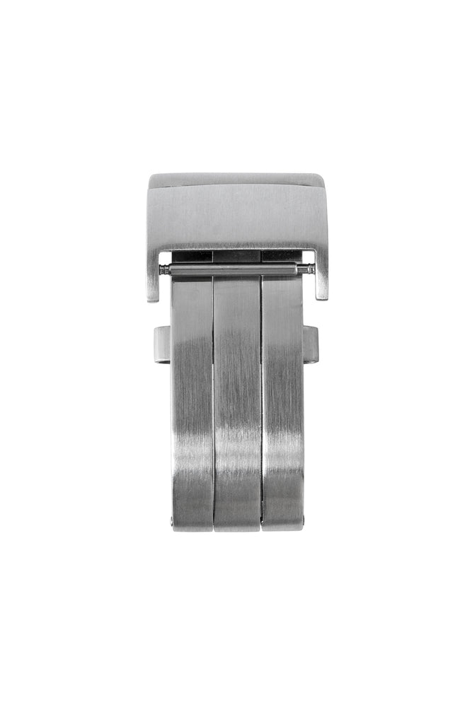 Load image into Gallery viewer, BREITLING-STYLE Brushed Silver Metal Deployment Clasp
