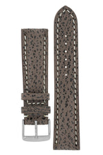 Breitling-Style Shark Watch Strap and Buckle in BROWN