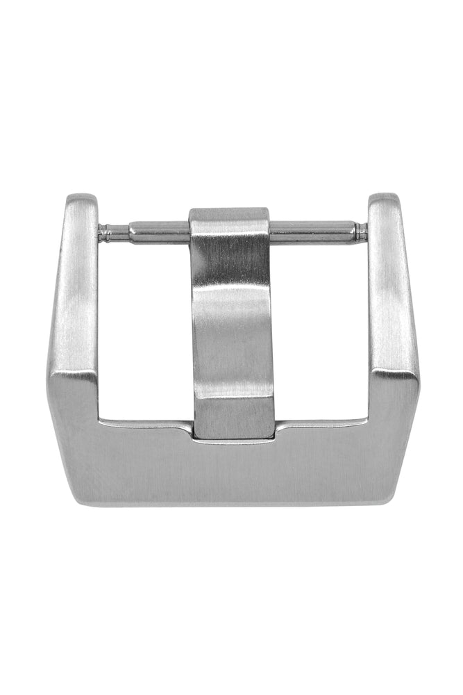 Brushed Silver Bell & Ross-Style Buckle