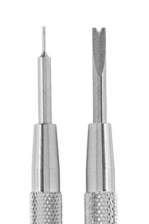 Bergeon Metal Spring Bar Removal Tool - 6767-S (Fork and Point Tips)