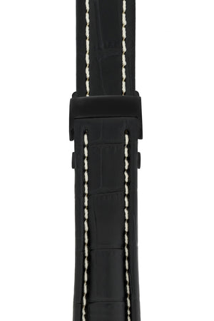 Load image into Gallery viewer, BREITLING-STYLE Black PVD-Coated Metal Deployment Clasp (On Strap)