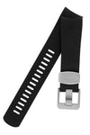 CRAFTER BLUE Rubber Watch Strap for Tudor Pelagos Series – BLACK