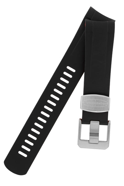 Crafter Blue Rubber Watch Strap for Tudor Pelagos Series in Black & Red