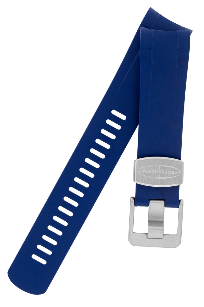 Load image into Gallery viewer, Crafter Blue Rubber Watch Strap for Tudor Pelagos Series in Blue